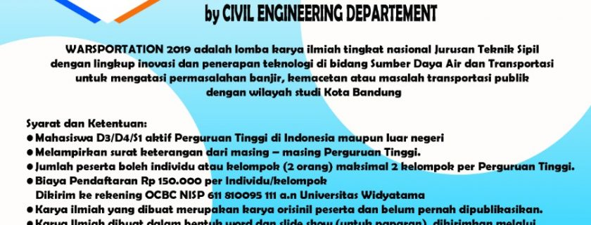 Water Resources Research And Transportation Engineering Inovation
