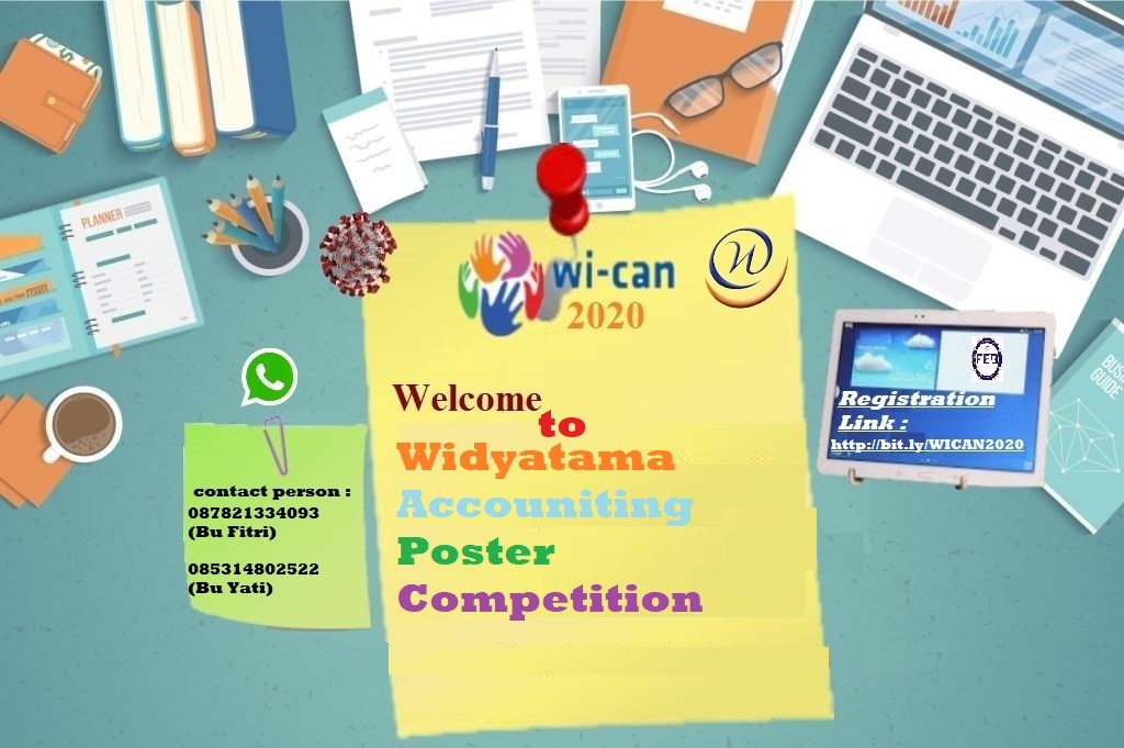 Widyatama Accounting Poster Competition